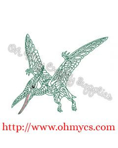 Henna Pterodactyl Picture