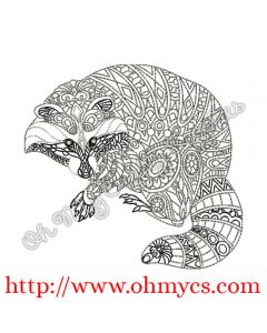Henna Racoon Picture