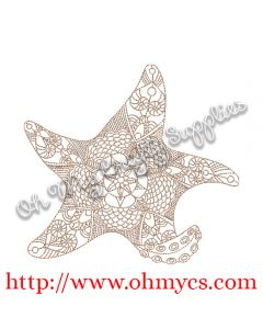 Henna Starfish Picture