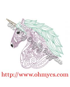 Henna Unicorn Picture