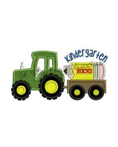 Kindergarten Tractor