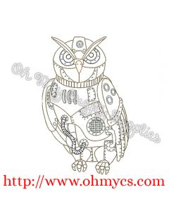 Steam Punk Owl Picture