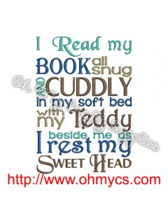 Teddy Book Pic