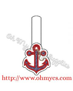 ITH Anchor Key Fob Design