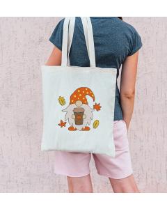 Autumn Spice Gnome Embroidery Design