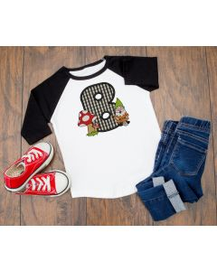 Gnome Letter B Applique
