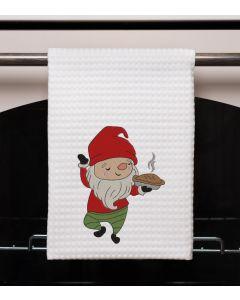 Baking Gnome Embroidery Design