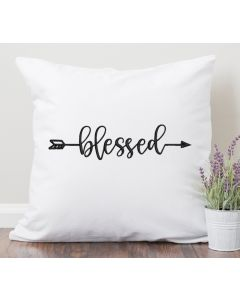 Blessed Arrow Embroidery Design