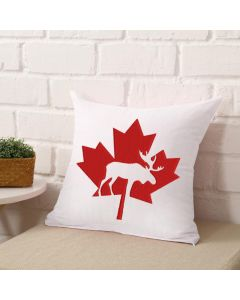 Canada Moose Leaf Embroidery Design