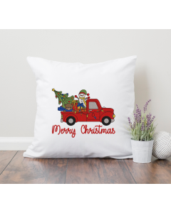 Christmas Toy Truck 2020 Embroidery Design