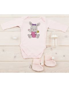 Cuteness Girl Bunny Embroidery Design