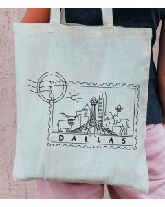 Dallas Stamp Embroidery Design
