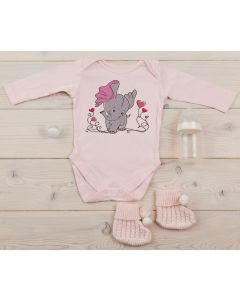 Dreamy Elephant Embroidery Design