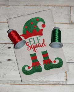 Elf Squad Embroidery Design