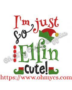 Elfin Cute Embroidery Design