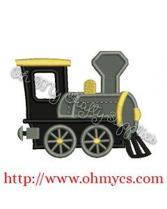Express Train Applique Design