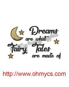 Fairy Tale Dreams Embroidery Design