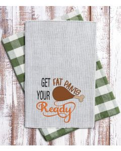 Fat Pants Ready Embroidery Design