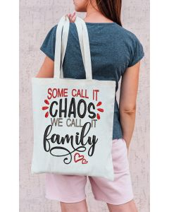 Family Chaos with Hearts Embroidery Design