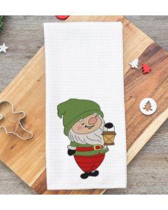 Gnome Lantern Embroidery Design