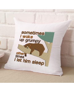 Wake Up Grumpy Bear (HIM VERSION) Embroidery Design