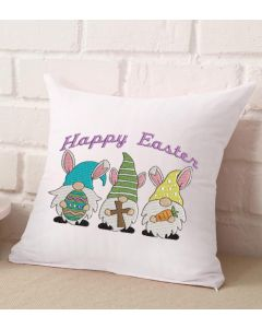 Happy Easter Gnomes Embroidery Design