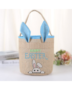 Easter Bunny Hole Embroidery Design