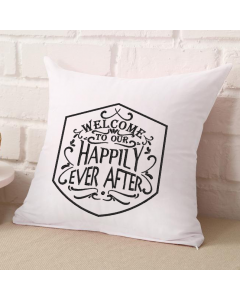 Our Happily Ever After Shield Embroidery Design