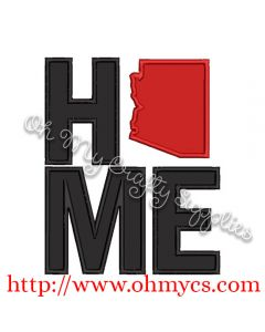 Home Arizona Applique Design