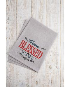 Home Blessed Home Embroidery Design