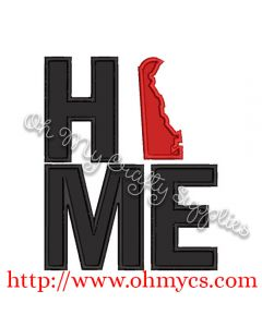 Home Delaware Applique Design