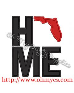 Home Florida Applique Design