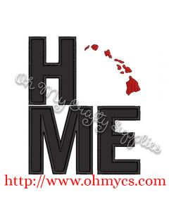 Home Hawaii Applique Design