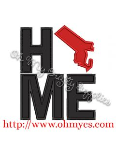 Home Massachusetts Applique Design