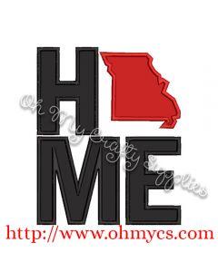 Home Missouri Applique Design
