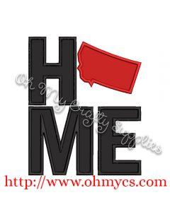 Home Montana Applique Design