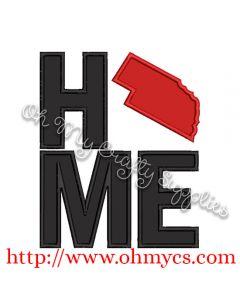 Home Nebraska Applique Design