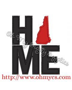 Home New Hampshire Applique Design