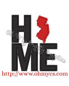 Home New Jersey Applique Design
