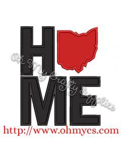 Home Ohio Applique Design