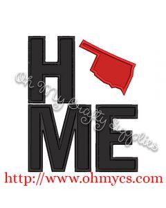 Home Oklahoma Applique Design