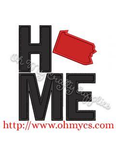 Home Pennsylvania Applique Design