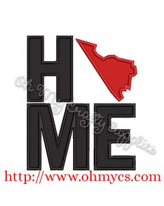 Home Virginia Applique Design