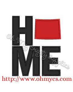Home Wyoming Applique Design