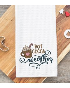 Hot Cocoa Weather 2020 Embroidery Design
