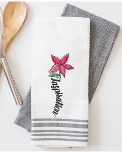 Inspiration Flower Embroidery Design