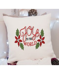 Joy to the World 2.0 Embroidery Design