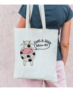Just a Little Moo-Dy Embroidery Design