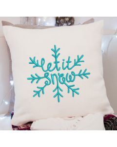 Let it Snow 2.0 Embroidery Design