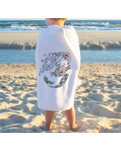 Little Miss Mermaid Embroidery Design